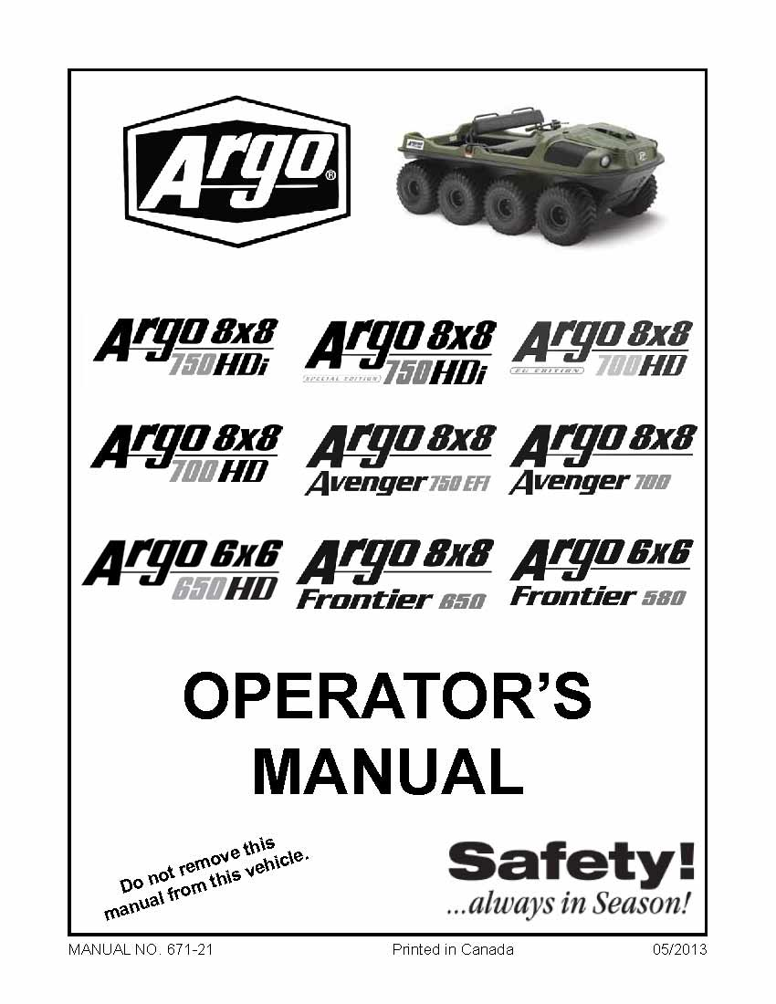 ArgoOperatorManual