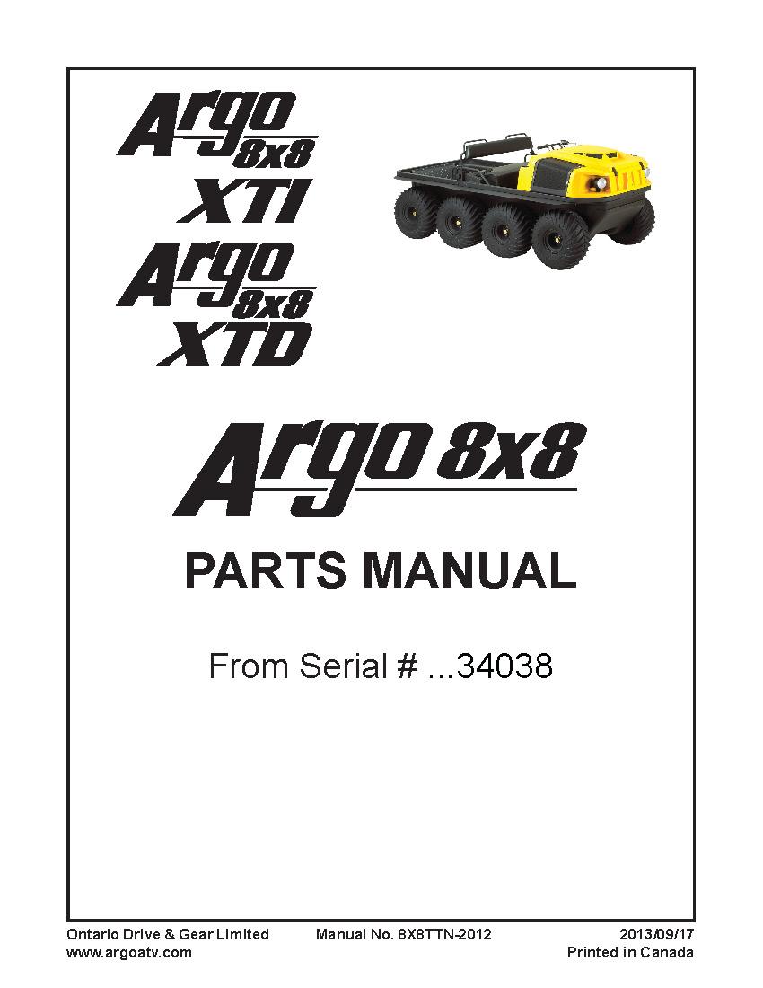 argoXTDXTIparts